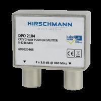 Hirschmann opdruk tweeweg splitter Kabelkeur