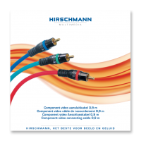 Component Video kabel Hirschmann High-End PPC 0.9meter