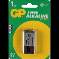 GP Super Alkaline 9Volt Blok Batterij
