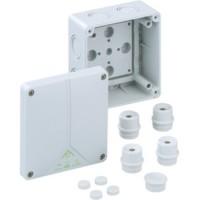Lasdoos / kabeldoos Spelsberg IP65 ABOX 060-L 110x110mm